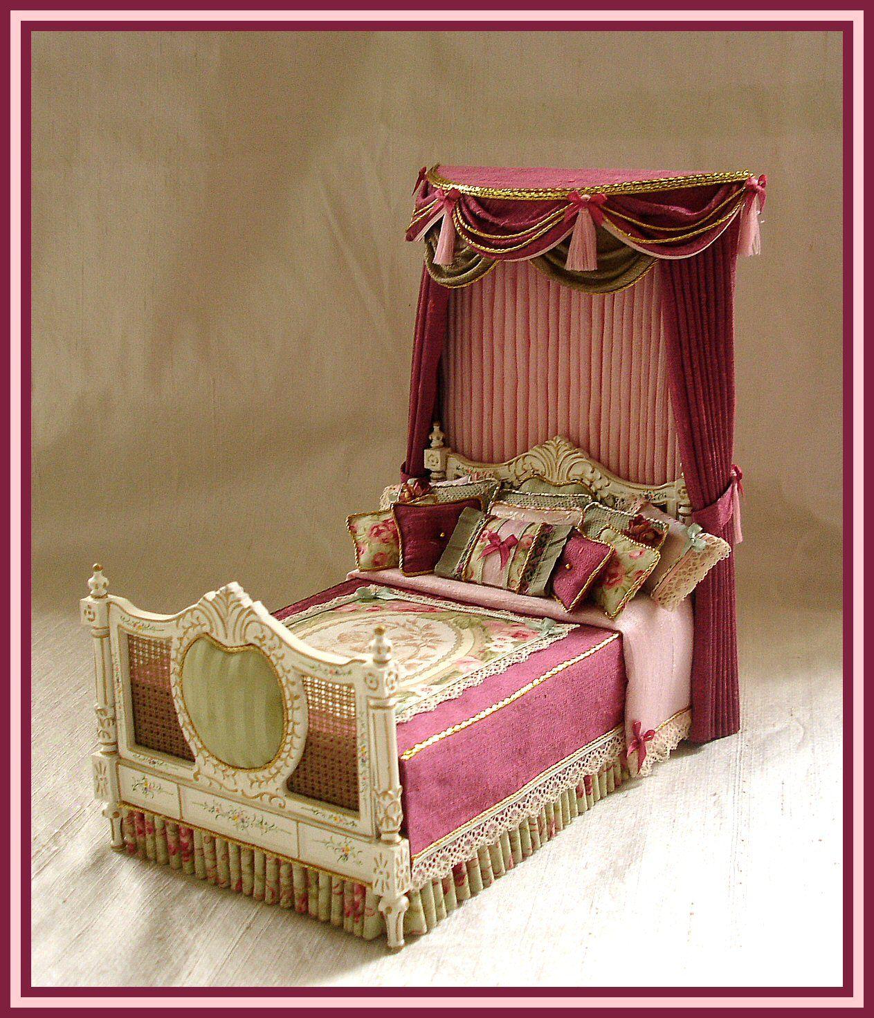 отличное картинка кровать для кукольного домика спортсменки