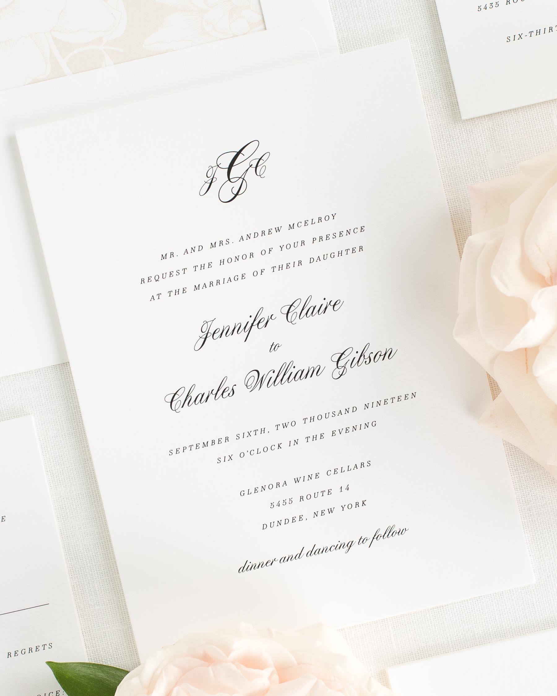 Wedding Invitations Wedding Invitation Samples Classy Wedding Invitations Wedding Invitations