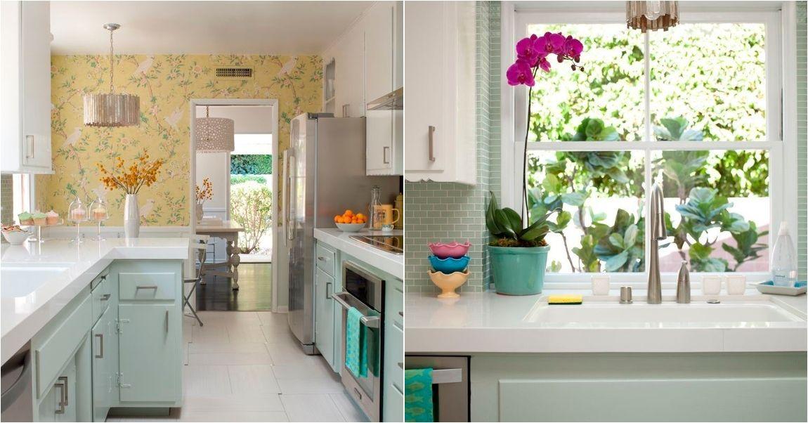 El antes y el despu s de una cocina rom ntica decoraci n - Moscas pequenas cocina ...