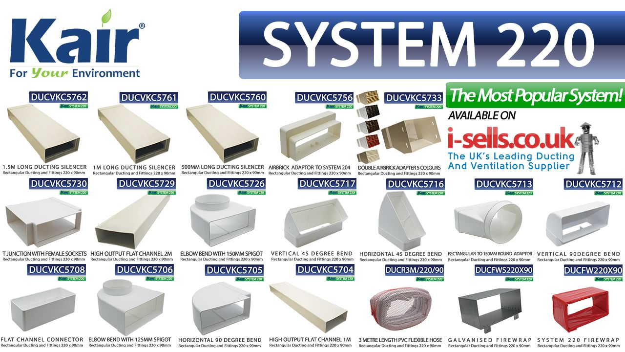 We Supply System 220 Ducting Range Throughout The Uk Usually From Stock This Ductwork Systems Is Ideal For The Ducting Of Very H Duct Work System Cooker Hoods