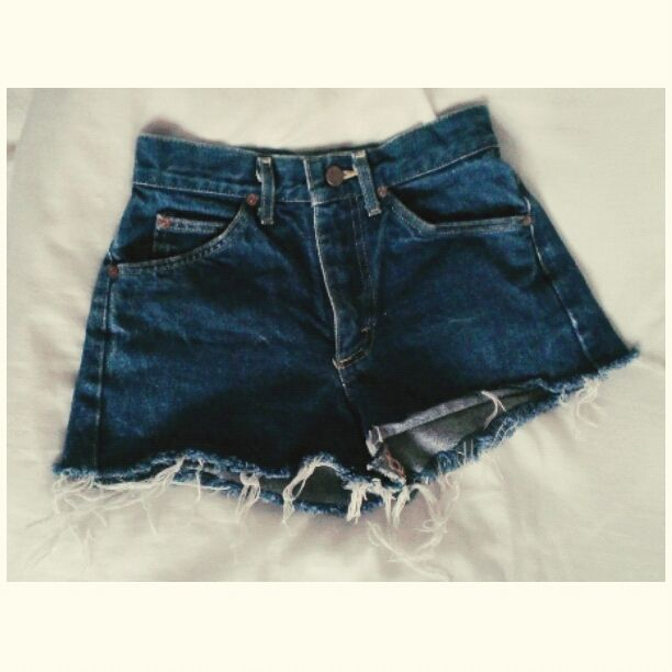heetheadz.com dark denim high waisted shorts (04 ...