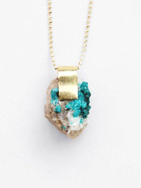 Nallik dioptase pendant pour porter pretty little jewels nallik dioptase pendant pour porter aloadofball Gallery