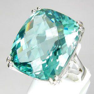 Blue/Green Amethyst Ring