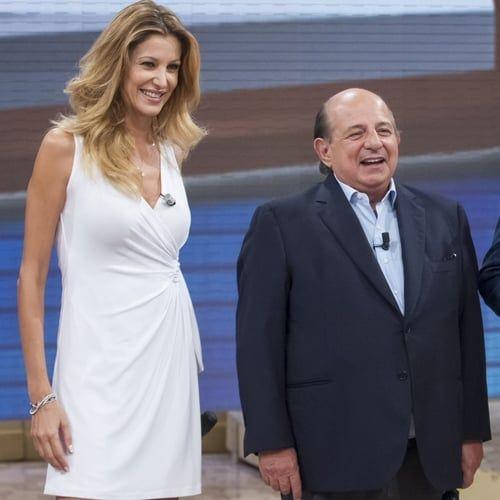 Lite tra Giancarlo Magalli e Adriana Volpe: insulti e frecciate via social
