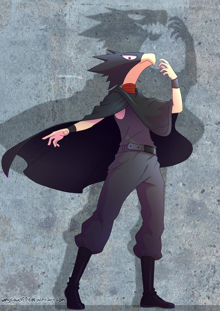 Fumikage Tokoyami (Boku no Hero Academia) by wingedwolf94 on DeviantArt