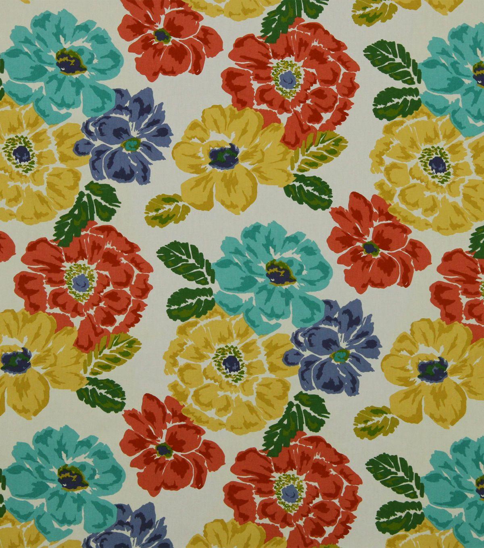 Robert Allen @ Home Print Fabric   Brushed Floral Calypso   Home Decor  Fabric   Decor Fabric At JOAN