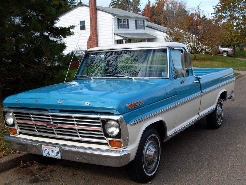 1968 Ford truck | ... MacDonald Pickup Truck Review from 1959 to ...