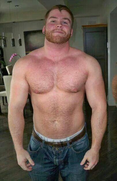 hairy beefy ginger men naked
