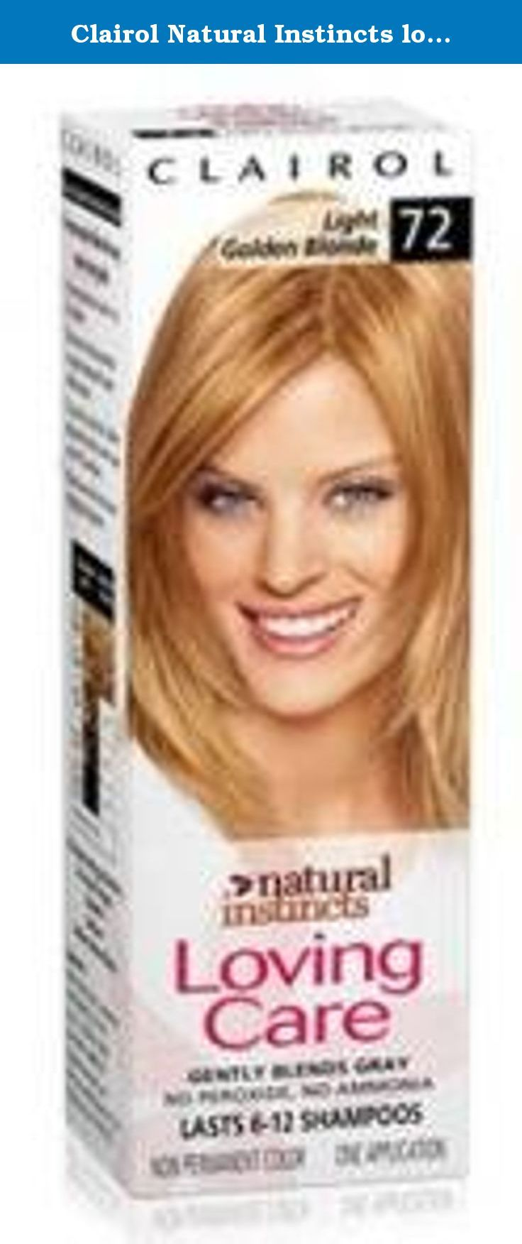 Clairol Natural Instincts Loving Care Non Permanent Hair Color 72