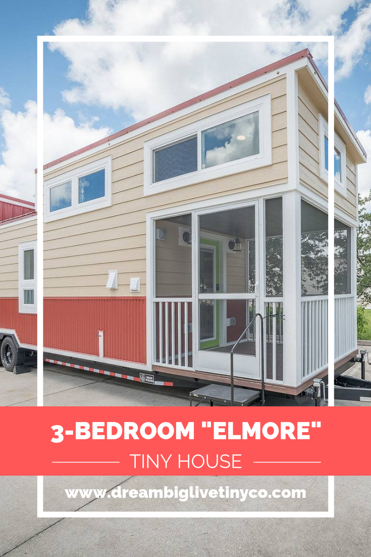 3 Bedroom Elmore Tiny House On Wheels By Movable Roots Tiny House Exterior Building A Tiny House Best Tiny House