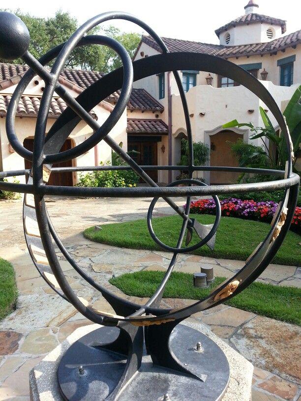Gyrosphere at The Garden of Allah Villas faithful recreation of one ...