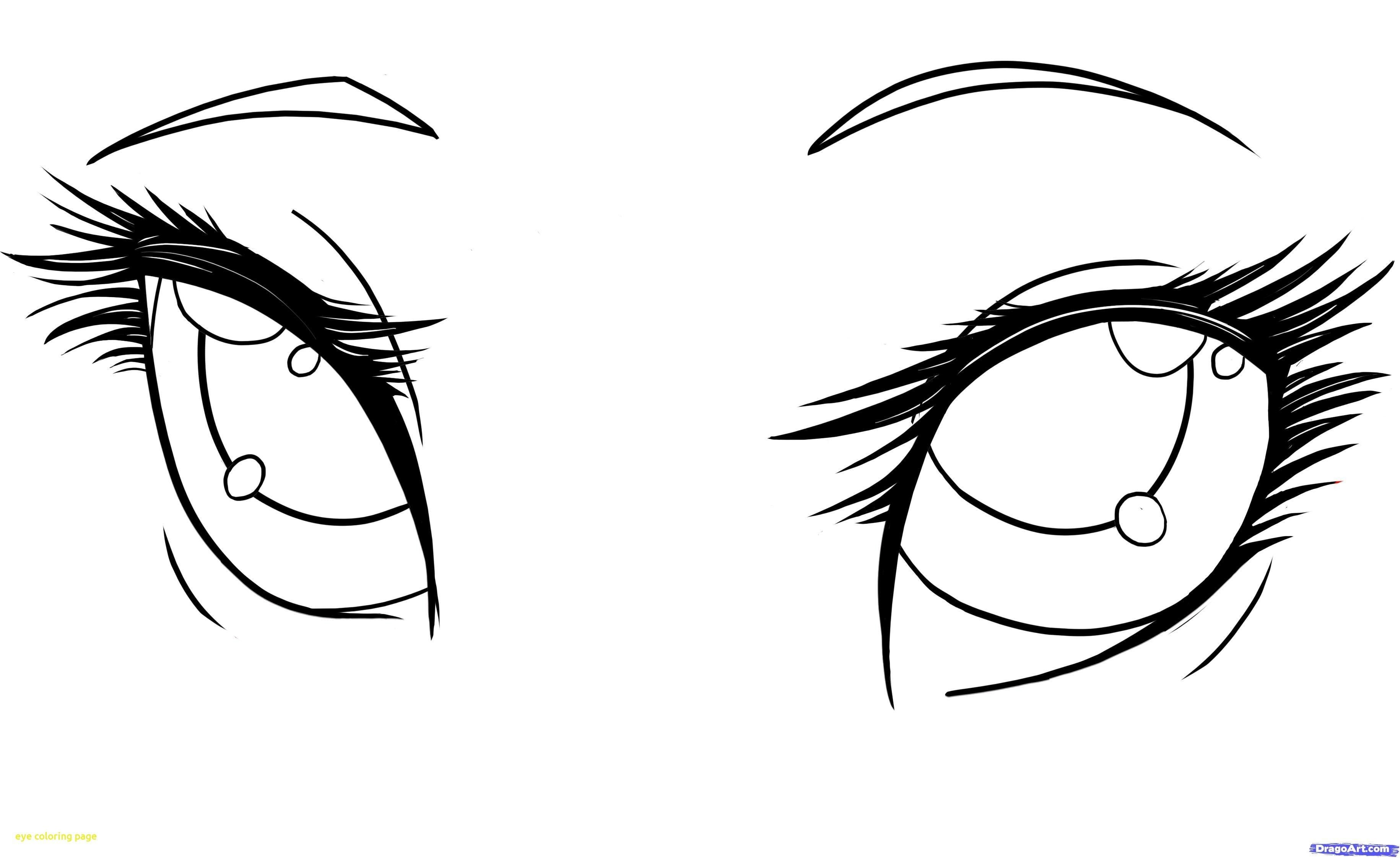 Direct Eye Coloring Page Pages Eyes New With 6 Realistic How To Draw Anime Eyes Girl Eyes Drawing Anime Eyes