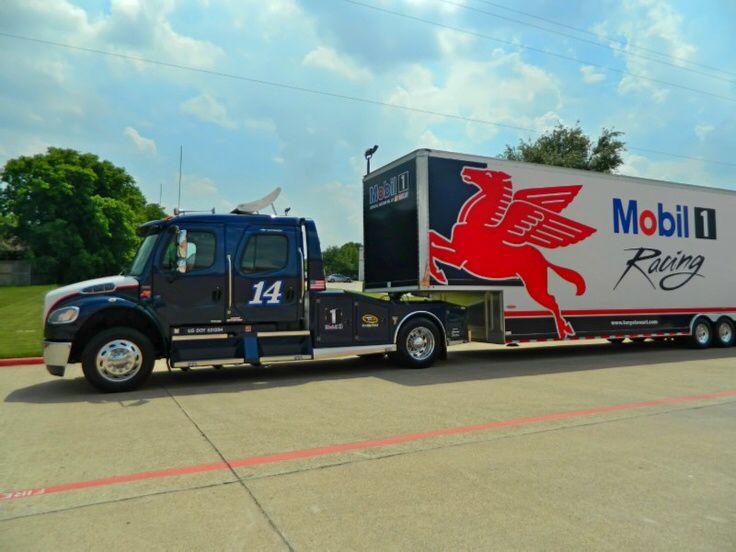 Tony Stewart Show Car Hauler 2 Tractor Trailer Truck Sprint Cars Nascar Sprint Cup