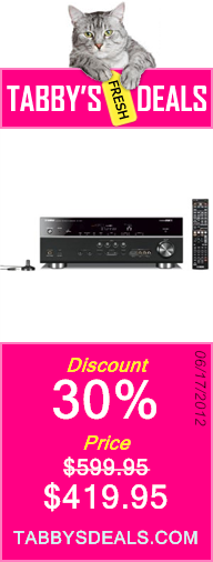 Yamaha RX-V671 7.1-Channel Network AV Receiver $419.95