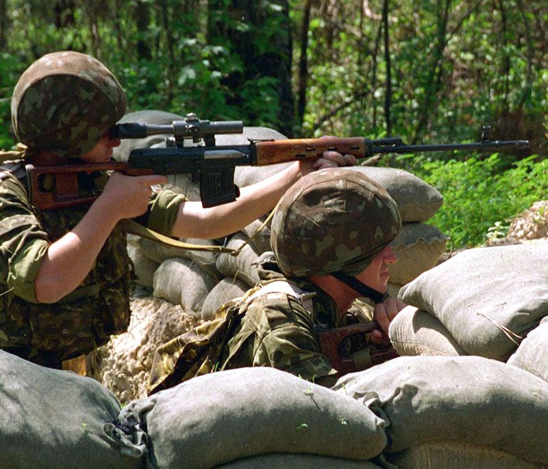 The Dragunov sniper rifle has been in service since 1963  It first