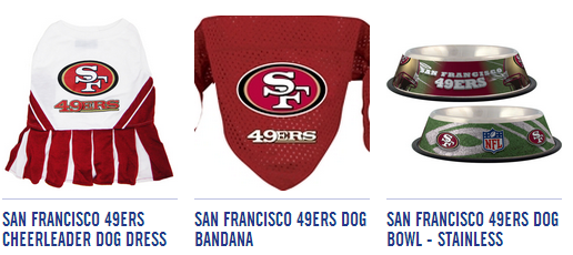 bd6807543ab 49ers for dogs