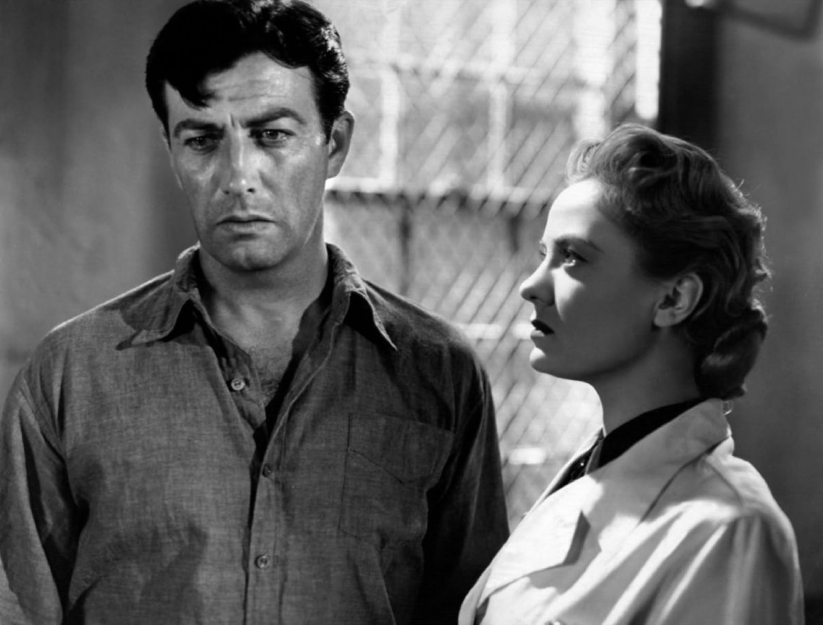 Image result for photos of robert taylor and audrey totter in high wall