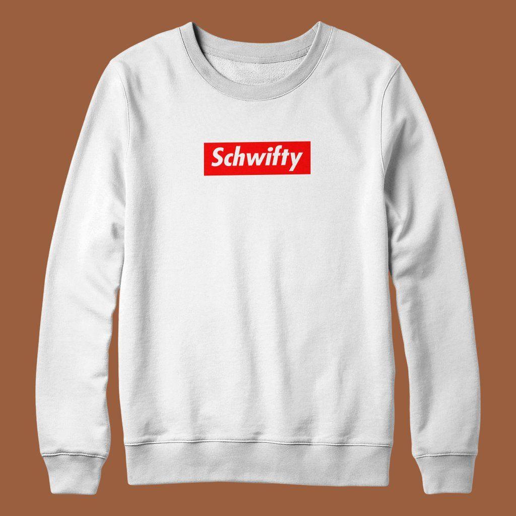 ca60fea4e Schwifty Box Logo Streetwear Hypebeast Funny Parody Unisex Sweater Mens  Womans Rick Jumper S - XXL