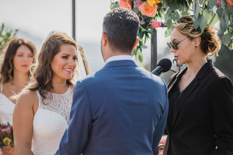 Bright Summertime Wedding At The Kimpton Canary Spanish Style Weddings Santa Barbara Wedding Socal Wedding