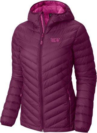 Mountain Hardwear Women\'s Micro Ratio Hooded Down Jacket ...