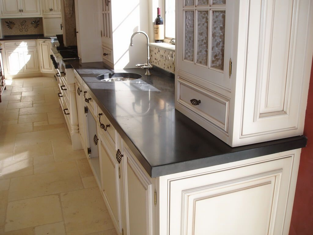 Image Result For Black Concrete Countertops  Kitchen Redo Beauteous Concrete Kitchen Countertops Decorating Inspiration