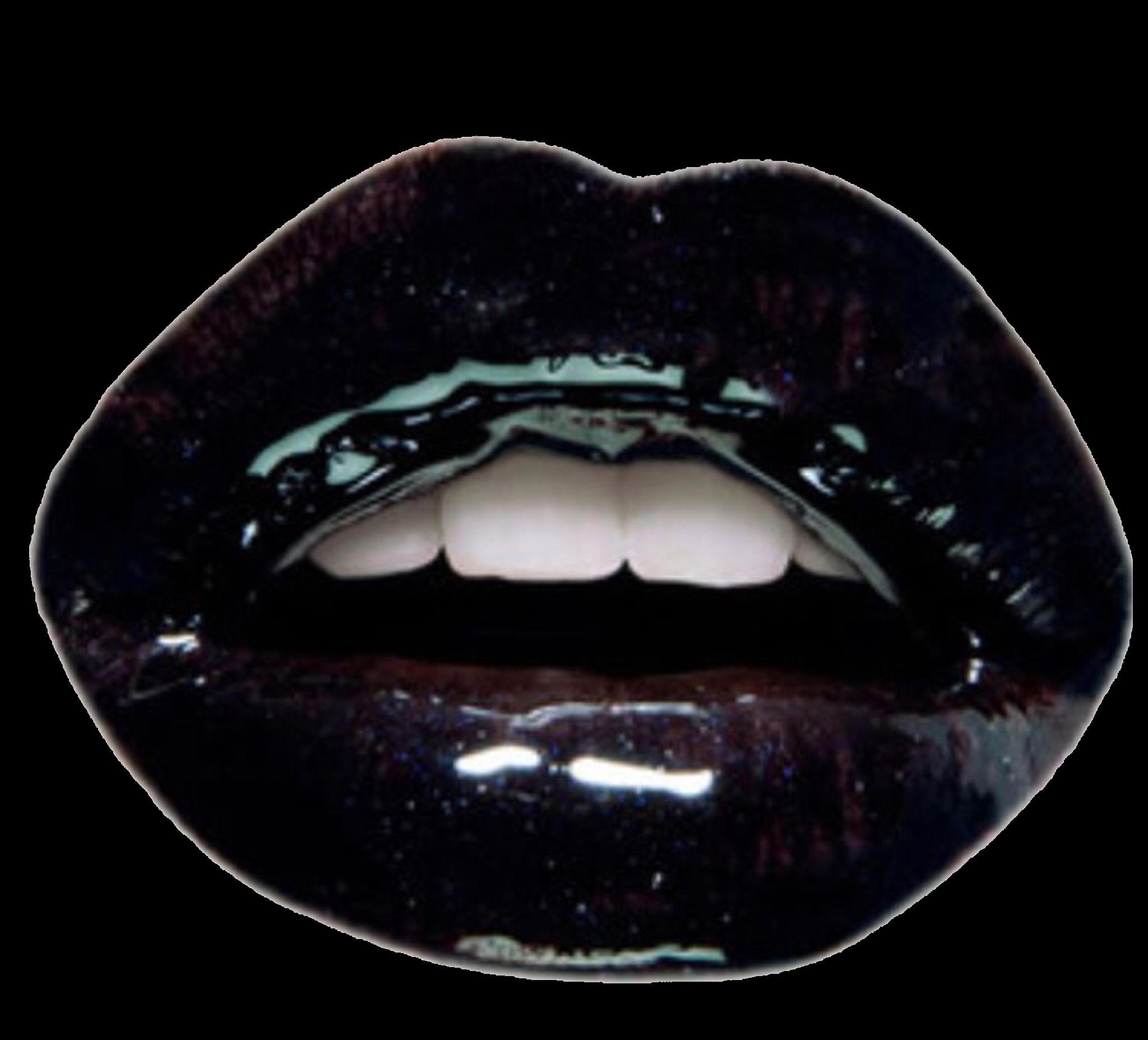 Pin By Daisyqueenofflowers On Pngs Black Lips Mood Boards Lips