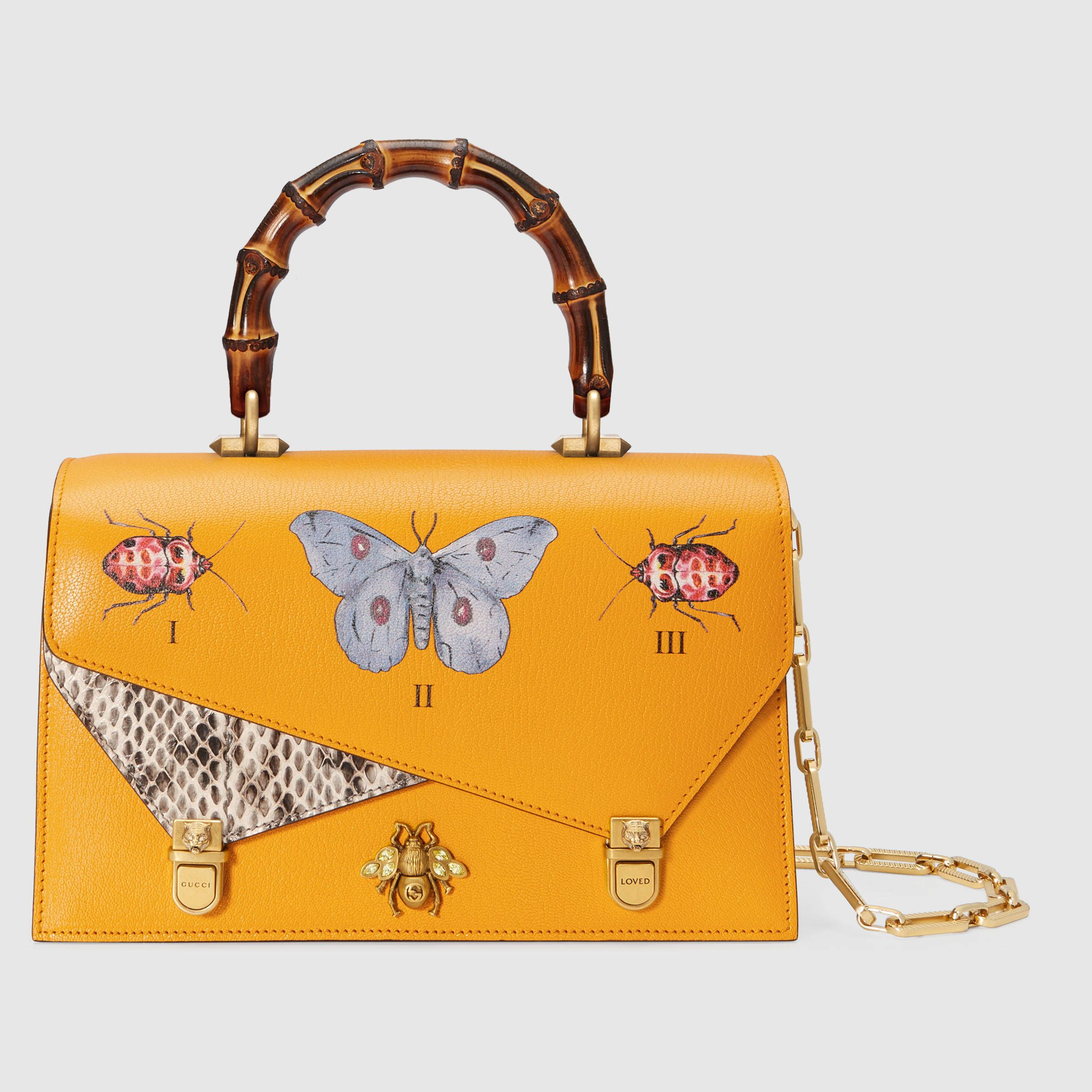 43ab0eb5c9433a Ottilia leather small top handle | bir | White leather handbags ...