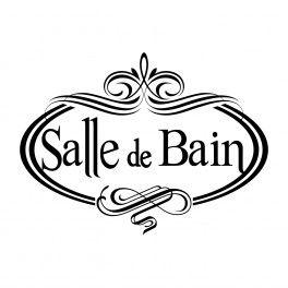Sticker Texte Salle de Bain Vintage … | Salle de bain, Salle ...