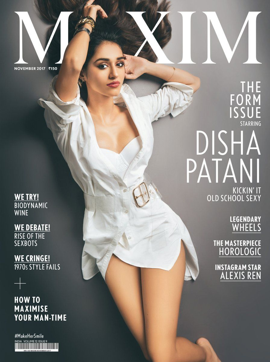Disha Patani Hot Maxim Magazine India Photos - November 2017 ...