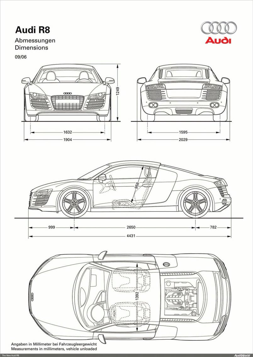 Audi R8 blue print | Vehicles | Pinterest