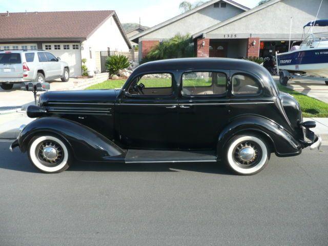 1936 Dodge D2 Touring Sedan 4 Door California Car Classic Cars Buy Classic Cars Muscle Cars For Sale
