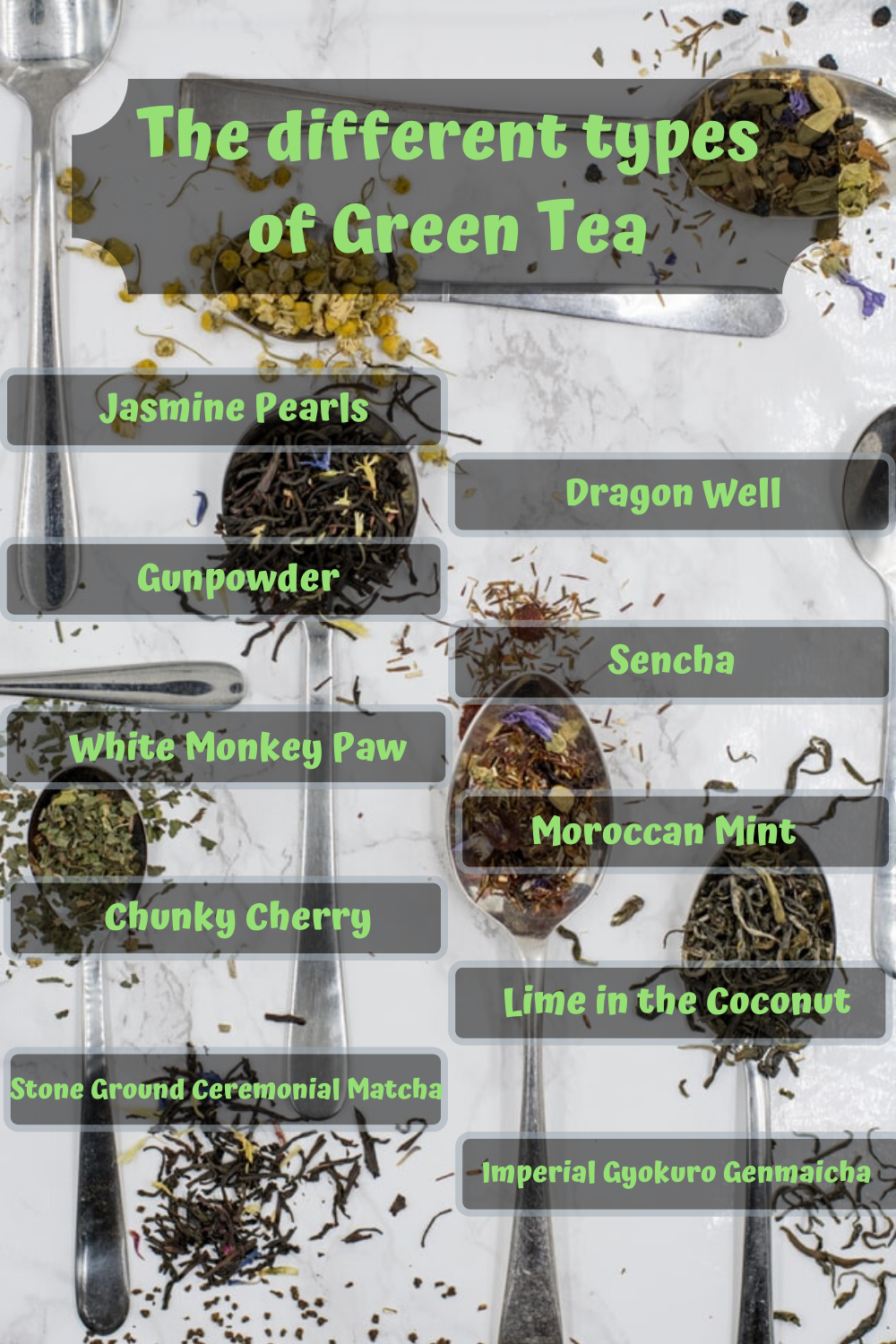 Photo of Different types of Green Tea