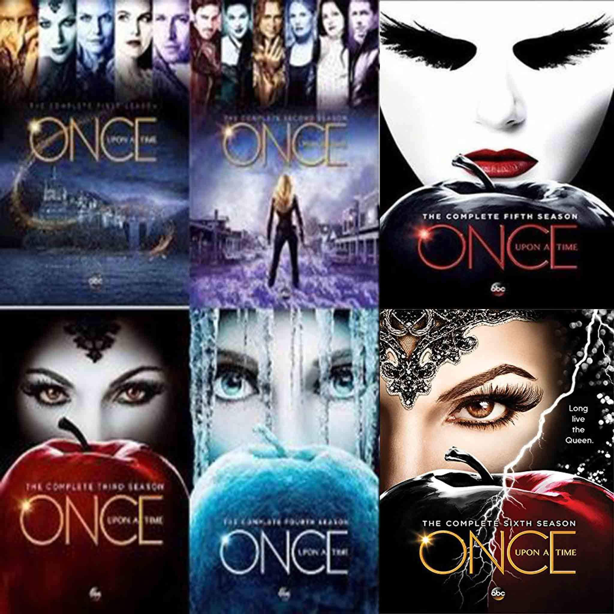 Once Upon A Time Dvd Series Seasons 1 7 Set With Images Once
