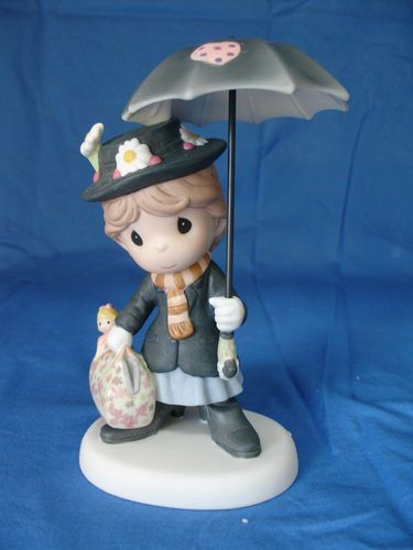 Mary Poppins You Re Practically Perfect Figurine Disney Precious Moments Ebay
