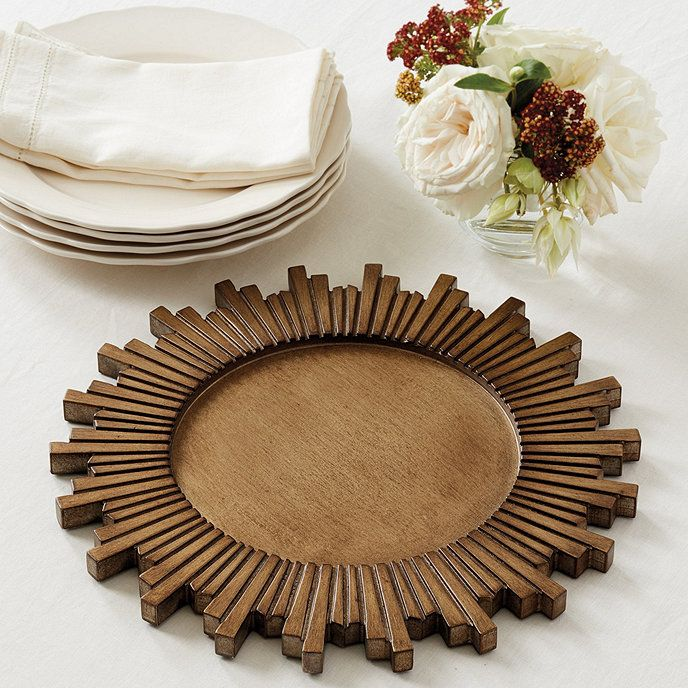 Wood Sunburst Charger | Sunburst | Pinterest | Woods Rustic wood and Room & Wood Sunburst Charger | Sunburst | Pinterest | Woods Rustic wood ...