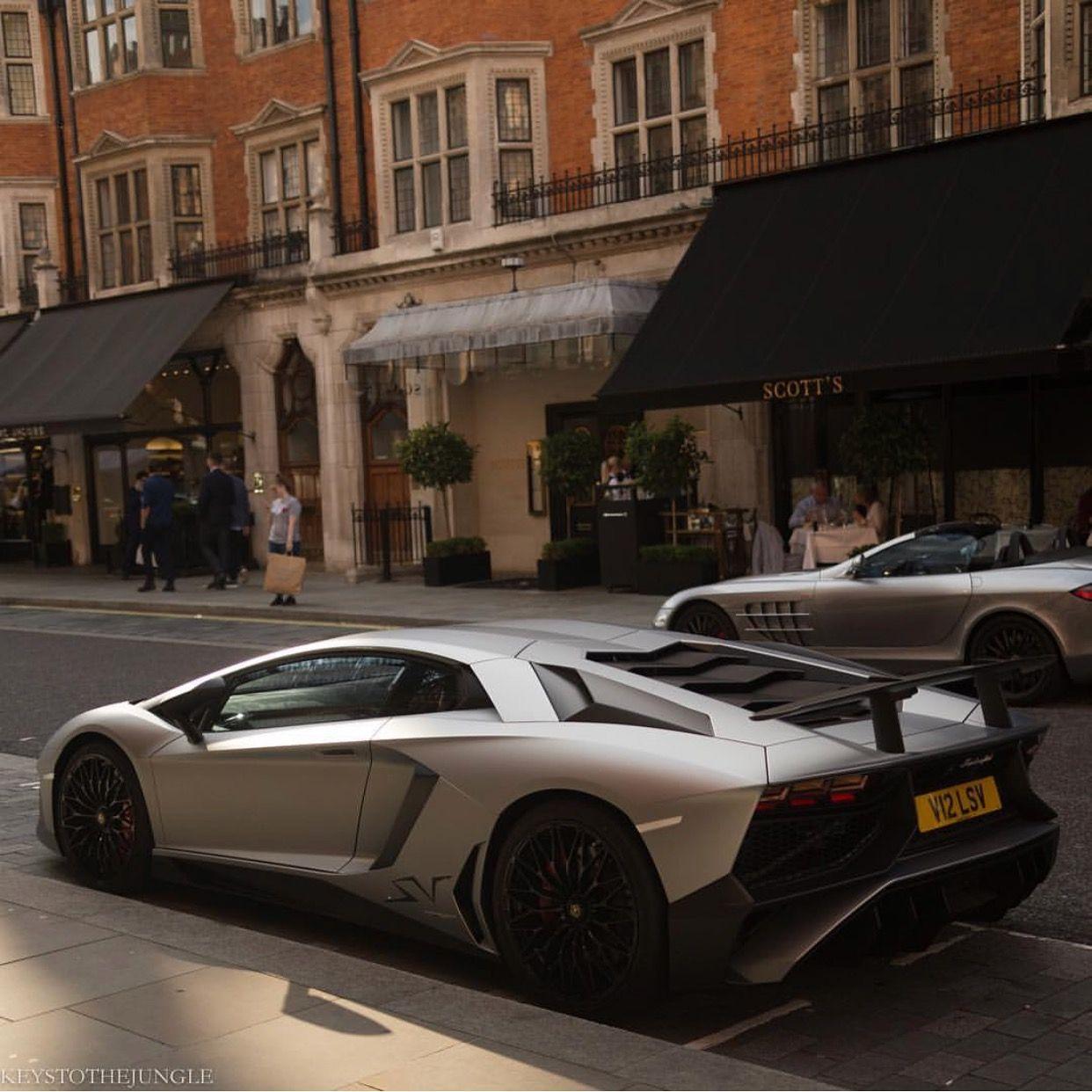 Lamborghini Aventador Super Veloce Coupe Grigio Artis Photo taken by