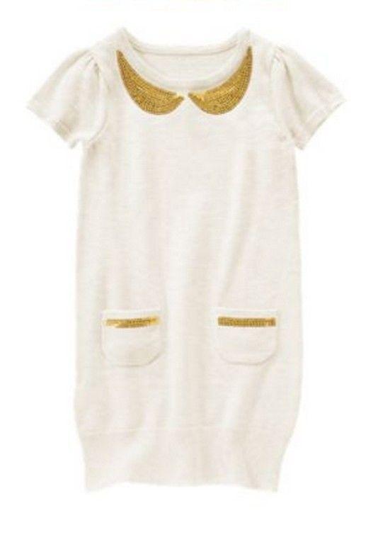 5219d885ed5 NEW NWT Gymboree HOLIDAY SHINE sequin collar sweater dressy dress girl 5 5T   Gymboree  DressyHolidayWedding