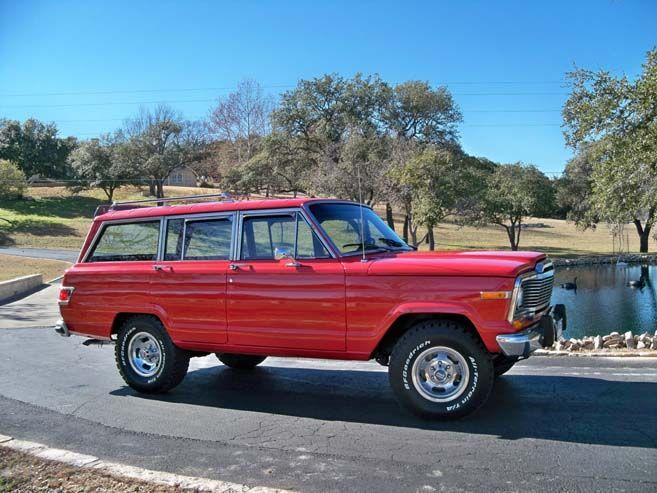 79 Jeep Wagoneer Pinterest
