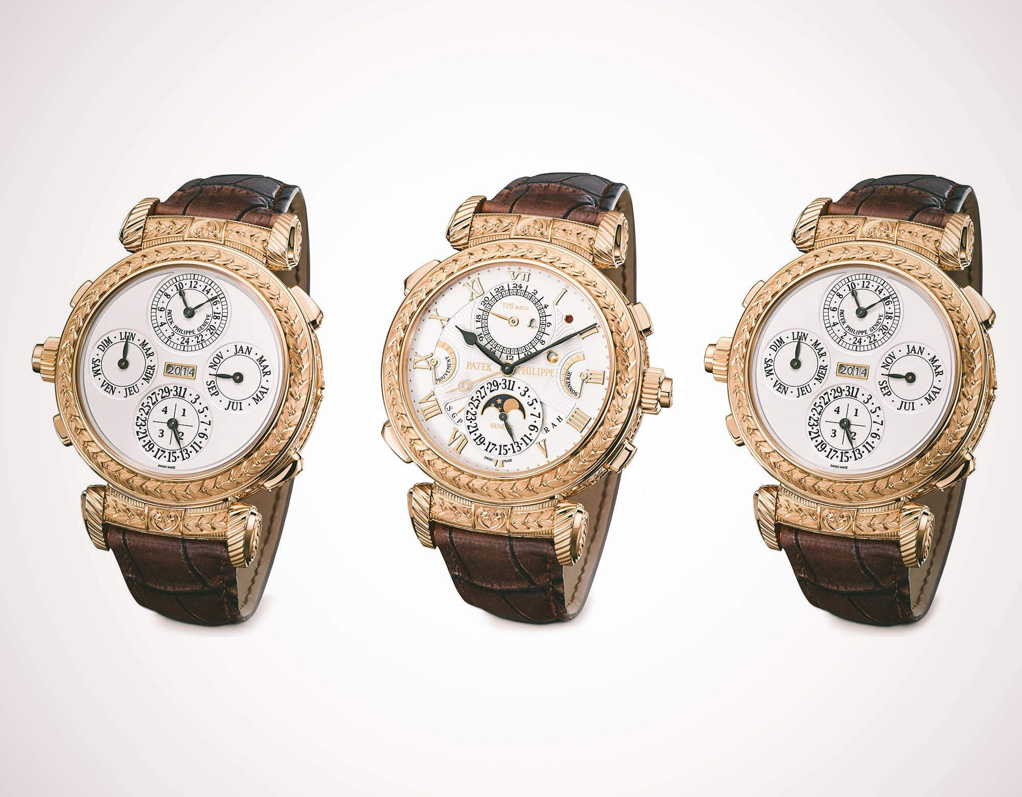 For their 175th anniversary, Patek Philippe brings you their most complicated watch ever.