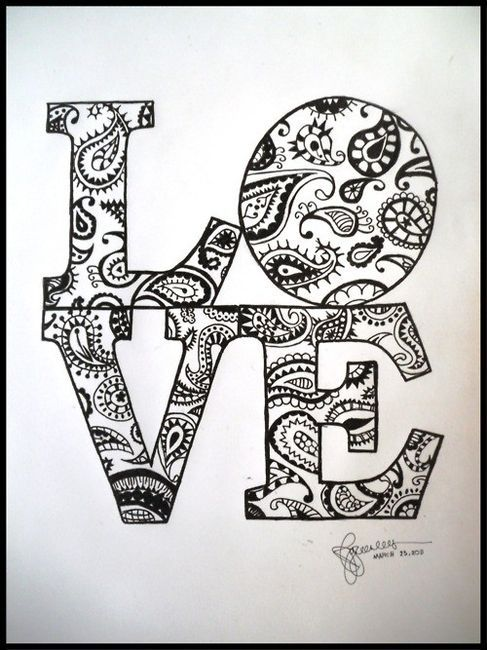 I Like The Paisley Con Imagenes Dibujos Bonitos Dibujos