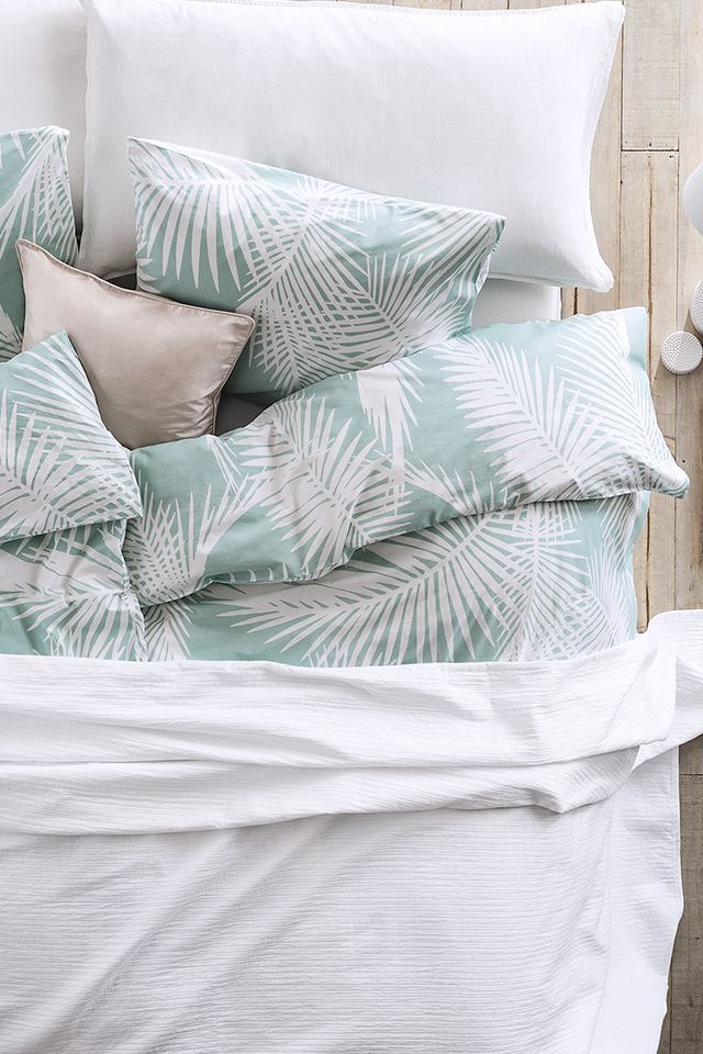 Pastel Palm Leaves H M Hmhome Bedroom Trends Home Bedroom Home