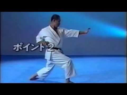 Jka Kata Wankan Tanaka Sensei With Images Karate Martial Arts