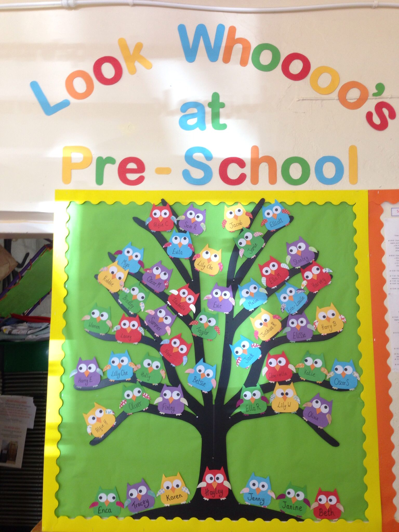 BACK TO SCHOOL Wall Cutouts Classroom Party Room Decorations Grade Books Daycare