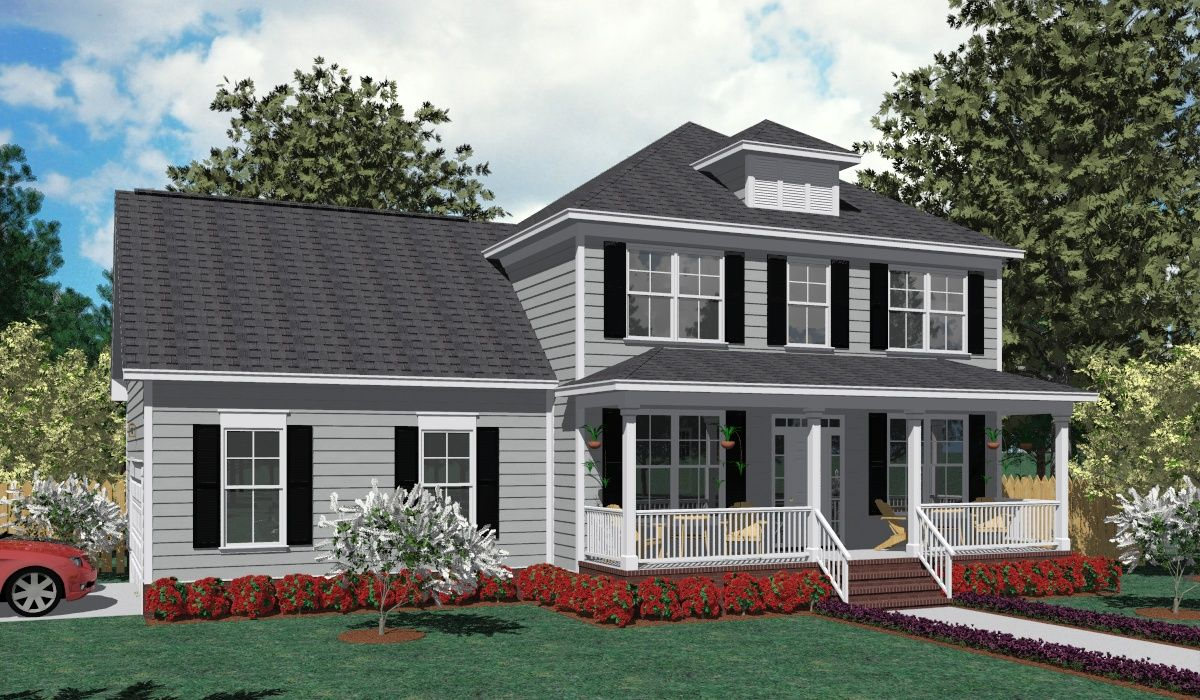House Plan 1827C TAYLOR C elevation 1827 Square Feet 52