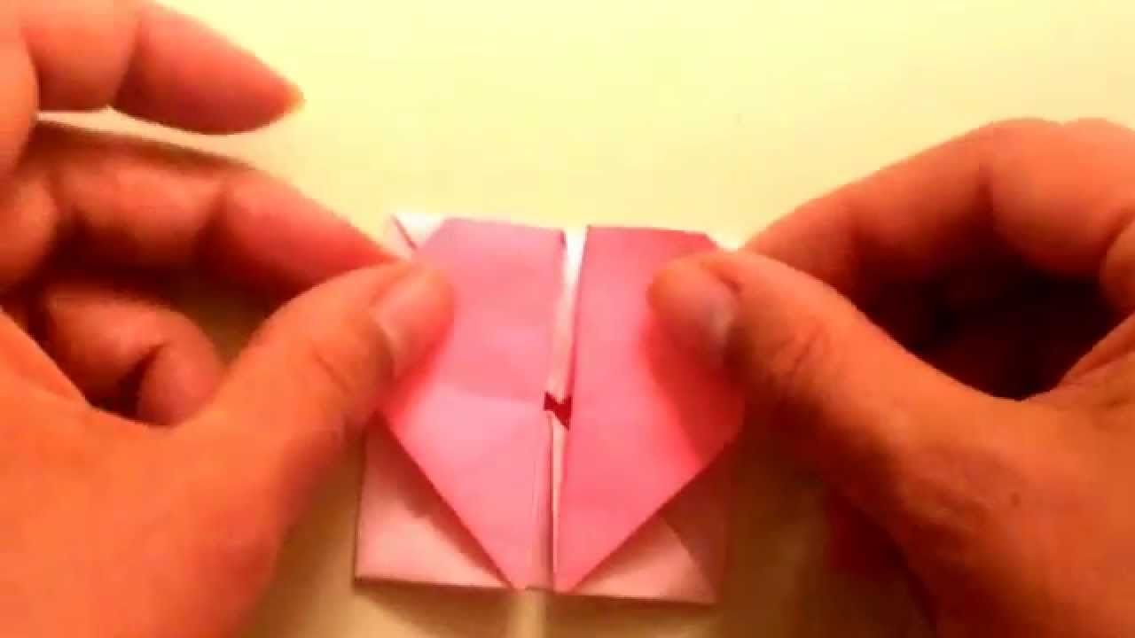 Origami Heart Box With Secret Message Inside Great For Kids Step By Step Directions Valentine S Day Origami For Beginners Heart Box Origami