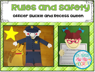 Officer Buckle and Friends...Rules and Safety (1st Grade