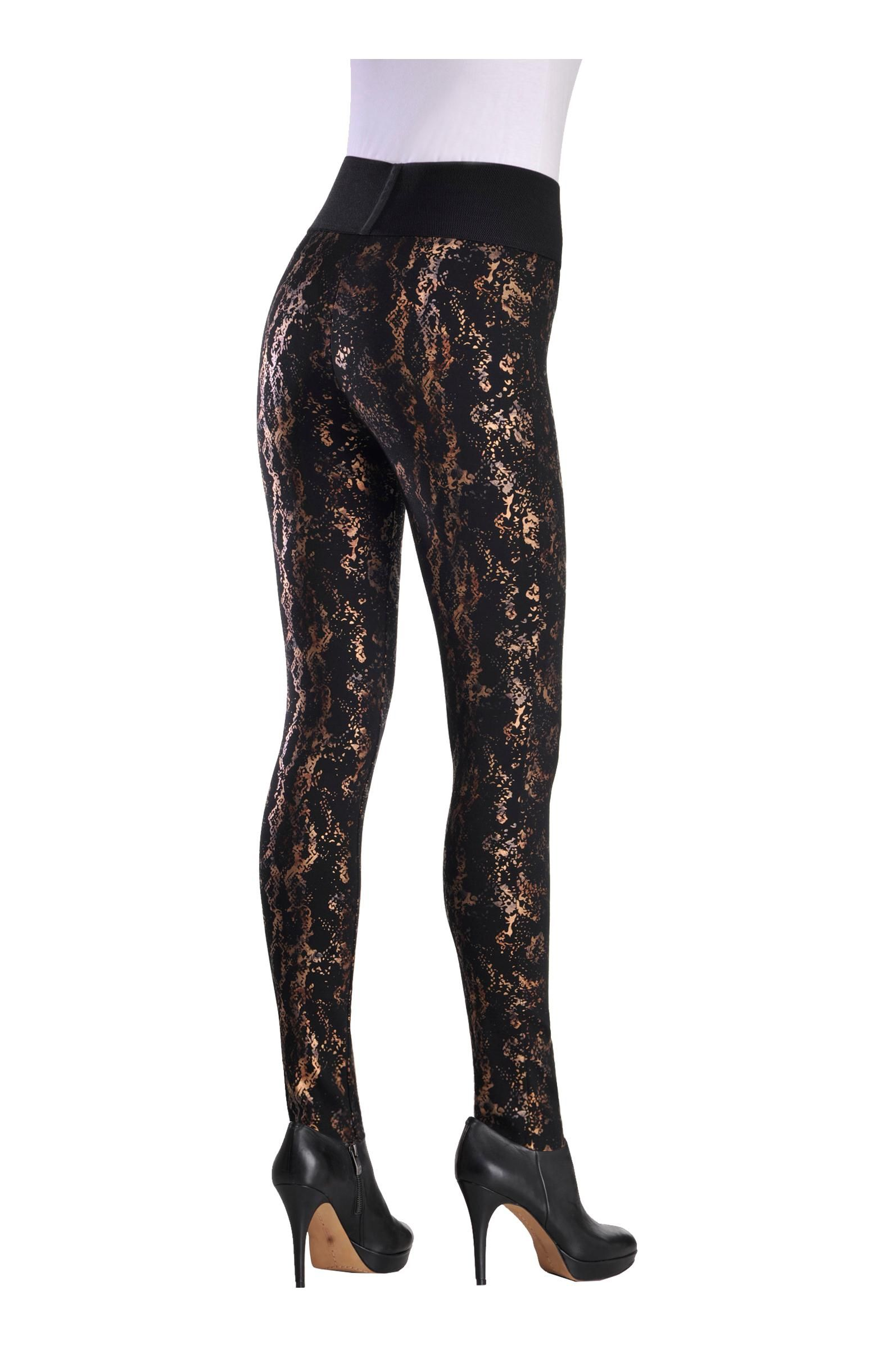f882e5dca4c7 Peter Nygard Slims, Gold Foil Leggings, 2014, - 03 | Paula's ...