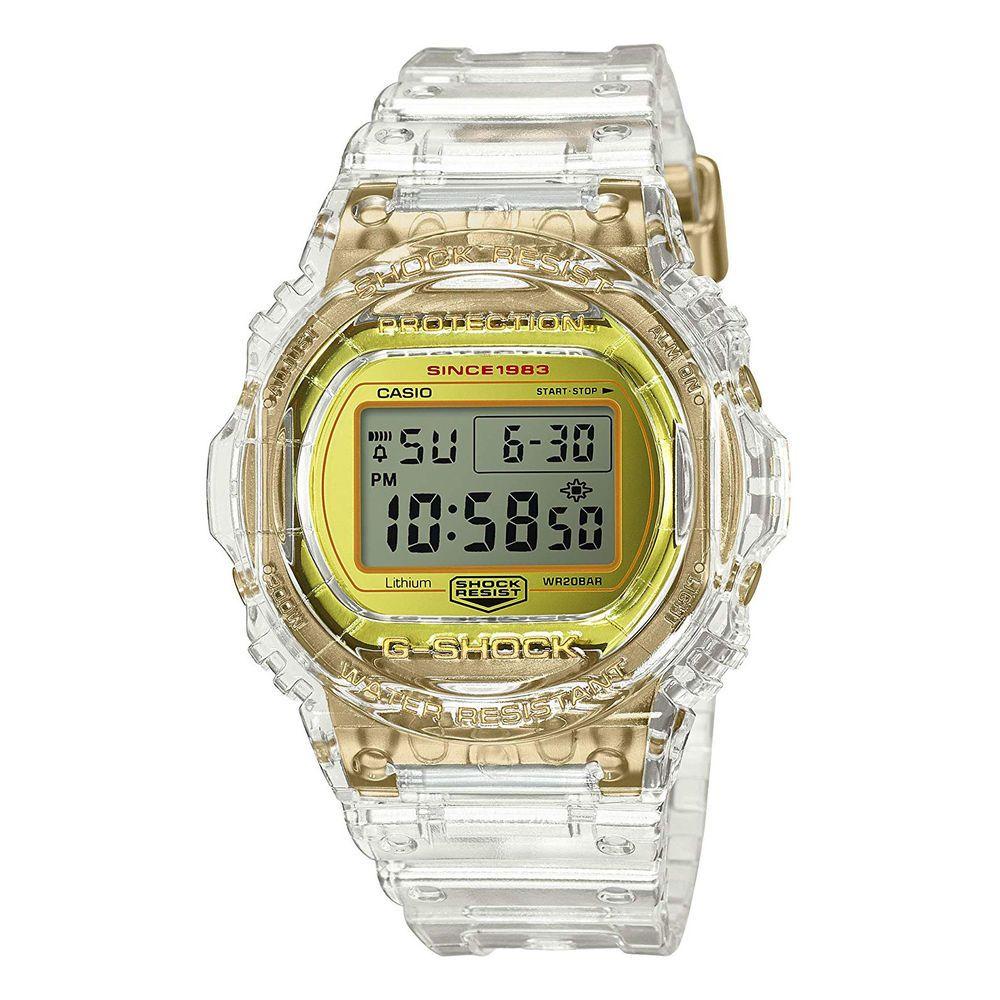 CASIO G SHOCK 35th Anniversary Glacier Gold Limited DW 5735E
