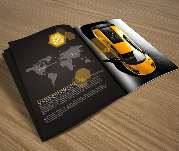 Super motor sports 2012 brochure is a promotional 8pp brochure - sports brochure