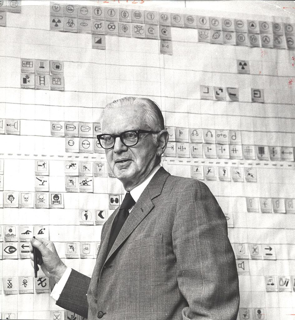 Industrial Designer Henry Dreyfuss In The Late 60s Or Early 70s